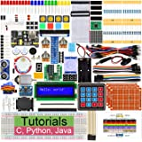Freenove Ultimate Starter Kit for Raspberry Pi 4 B 3 B+, 434 Pages Detailed Tutorials, Python C Java, 223 Items, 57 Projects,