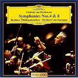 ベートーヴェン:交響曲第4番&第8番