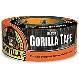 Gorilla Tape、ブラック ダクトテープ、1.88インチ x 12ヤード、ブラック 1 Pack 6001203-10 1