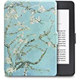 WALNEW Case for Kindle Paperwhite PU Leather Case Smart Protective Cover fits All Paperwhite Generations Prior to 2018 (Not f