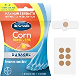 Dr. Scholl's CORN REMOVER with Duragel Technology, 6ct // Removes Corns Fast and Provides Cushioning Protection against Shoe