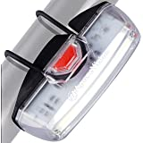 Bike Headlight USB Rechargeable by Apace - Powerful LED Bicycle Front Safety Light - Super Bright 200 Lumens Output for Optim