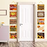Fall Decorations Banner Fall Signs Cutouts Thanksgiving and Harvest Decoration for Home and Autumn Party Decor Indoor Outdoor