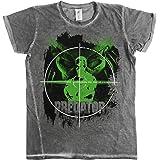 Officially Licensed Predator Crosshair Urban Slim Fit Mens T-Shirt (Grey)