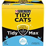 Purina Tidy Cats Clumping Cat Litter, Tidy Max Glade Tough Odor Clear Springs Multi Cat Litter - 38 lb. Box