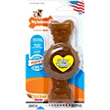 Nylabone just for puppies Wolf Chicken Flavored puppy dog ring bone teething chew toy