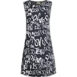 Pattern Shift Dress for Women from LaVieLente Soft Stretchy Jersey Fabric Unique Print Casual Fall Dress w/Pockets
