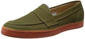 Penny Boat Shoes 11-31-0411-750: Olive