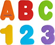Munchkin Letters and Numbers Bath Toys, (Pack of 36)