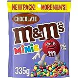 M&M's Milk Chocolate Minis Large Bag, 335 g