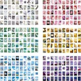 300 PCS Washi Stickers Set Vintage Plant Journal Stickers Sunset Scenery Sunny Blue Sky Sticker Book for Journaling DIY Decor