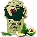 TONYMOLY I'm Real Avocado Nutrition Mask Sheet, Pack of 1