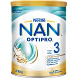 Nestlé NAN OPTIPRO Stage 3 Toddler Milk Formula, 1 year onwards, 800g