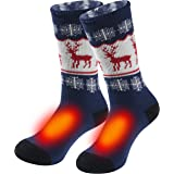 Warm Thermal Socks, Sunew Women Men Winter Insulate Heat Thick Heavy Crew Socks