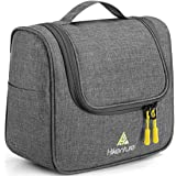 Travel Bag Organizer by Hikenture/Hanging Toiletry Bag for Men&Women - Portable,Waterproof Dopp Kit/Makeup Organize/TSA Frien