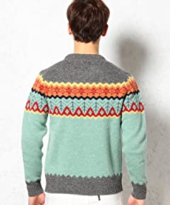 Panel 6.5-Gauge Wool Crewneck Sweater 3213-599-0331: Grey