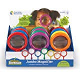 Learning Resources Jumbo Magnifier, Set of 12