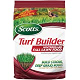 Scotts Turf Builder WinterGuard Fall Lawn Food, 12.5 lb. - Fall Lawn Fertilizer Builds Strong, Deep Grass Roots for a Better