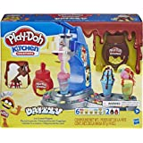 Play-Doh Kitchen Creations -- Drizzy Ice Cream Playset -- Inc Drizzle compound