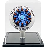 1:1t Iron Man Arc Reactor MK1 Finished produc Parts Model Led Light (with Display Box) No Assembly Required