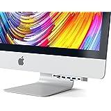 Satechi アルミニウム Type-C クランプハブ Pro USB-C データポート, 3 USB 3.0, Micro/SDカードリーダー (iMac ProとiMac 2017以降対応) (シルバー)