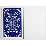 XTAROT 片面白紙カード56枚 ゲーム開発用 【片面ニス】 (紺)