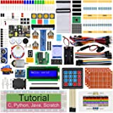 Freenove Ultimate Starter Kit for Raspberry Pi 4 B 3 B+ 400, 561-Page Detailed Tutorials, Python C Java Scratch Code, 223 Ite
