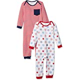 Amazon Essentials Baby Infant 2-Pack Coverall
