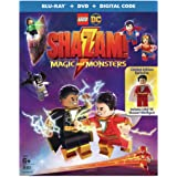 LEGO DC Shazam: Magic and Monsters (w/Figurine) (Blu-ray/DVD)