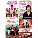 Ultimate Miranda Hart DVD Collection: Miranda Hart's Maracattack / Miranda Hart - My, What I Call, Live Show / Miranda - Seri