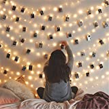 Twinkle Star 200 LED 66ft Fairy Copper String Lights USB and Adapter Powered with 9 Modes & Timer, Home Lighting Decor for In