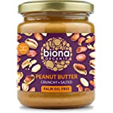 Biona Organic Peanut Butter Crunchy with Sea Salt, 250 g