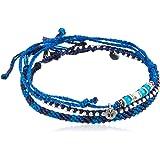 [ワカミ] wakami アンクレット Anklet blue mix WA-BC18020