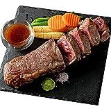 bonbori ( ぼんぼり ) 厚切り サーロインステーキ ( 約300g / 付け合せ野菜・ソース・わさび シーズニング 付き ) ステーキ肉 無添加 お取り寄せ 冷凍 ギフト 贈り物 御歳暮
