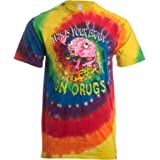 This is Your Brain on Drugs   Funny Festival Rave Concert Tie Dye Tiedye T-Shirt