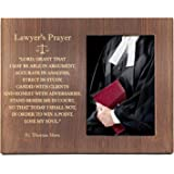 Ku-dayi Thomas Jefferson Quote Engraved Wood Photo Picture Frame - Inspirational Law School Gift - Lawyer Gift - Law Office D