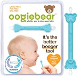 oogiebear - oogiebear - Patented Nose and Ear Gadget. Safe, Easy Nasal Booger and Ear Cleaner for Newborns and Infants. Dual