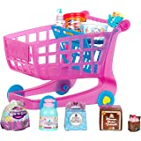 Shopkins Small Mart Shopping Cart, Pink