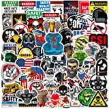 Hard Hat Stickers for Tool Chest Lunch Box,Stickers for Hard Hat Accessories,Tool Box Helmet Welding Construction Union Milit