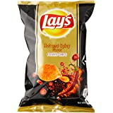 Lay's Potato Chips Hot & Spicy 48g, (Pack of 6)