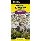 National Geographic United Kingdom Adventure Travel Map: Travel Maps International Adventure Map (National Geographic Adventu