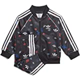 adidas Originals Kids' Toddler Superstar Track Suit Set