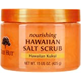 Tree Hut Nourishing Hawaiian Salt Scrub Hawaiian Kukui, 15oz, Ultra Hydrating and Exfoliating Scrub for Nourishing Essential