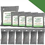 Bamboo Charcoal Air Purifying Bags, Breathe Green Charcoal Odor Eliminator Bags, Nature Fresher Air Purifier Bags, Activated
