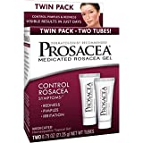 Prosacea - Controls Rosacea Symptoms of Redness, Pimples and Irritation - Twin Pack - Two 0.75oz Tubes (1.5oz Total)