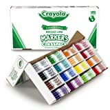 Crayola Classpack Assortment, 256ct Broad Line Markers, 16 Bold Colors, Great for Classroom, Educational, All-Purpose Art Too