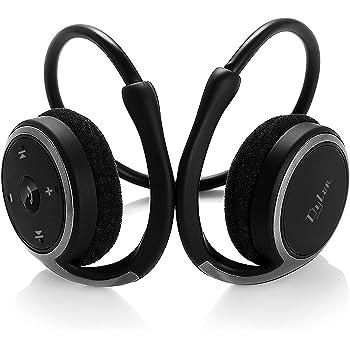 Dylan Bluetooth イヤホン CVC 6.0ノイズキャンセル機能搭載 ランニング仕様 耐汗 bluetooth ワイヤレス (ブラック)