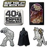 Star Wars: The Empire Strikes Back 40th Anniversary Enamel 6 Pin Set.