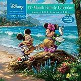 Disney Dreams Collection by Thomas Kinkade Studios: 17-Month 2020-2021 Family Wa