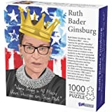 1000 Piece Puzzle, Ruth Bader Ginsburg Collectible, Notorious RBG Inspirational Quote, Women Belong in All Places Where Decis